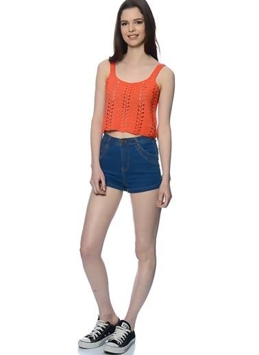 Glamorous Bluz Oranj
